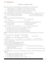 700 câu hỏi trắc nghiệm vật lý 12 hót