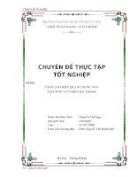 Chuyên đề thực tập tốt nghiệp  Nâng cao hiệu quả sử dụng vốn tại công ty TNHH Việt Thắng