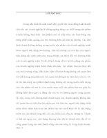 THỰC TRẠNG VÀ GIẢI PHÁP NÂNG CAO HOẠT ĐỘNG KINH DOANH VÀ VẤN ĐỀ THƯƠNG HIỆU Ở CÔNG TY TNHH DU LỊCH QUỐC TẾ NHẬT MINH