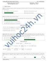 giải chi tiết đề thi đại học 2013 môn hóa