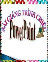 Huong dan PowerPoint don gian