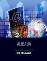 tiểu luận môn thương mại điên tử tìm hiểu về website thương mại alibaba