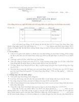 báo cáo kiểm điểm của bch chi đoàn