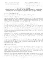 Bản thu hoạch Học tạp phong cách Hồ Chí Minh
