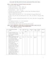 tài liệu hướng dẫn sử dụng & bảo dưỡng máy doa