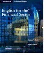 Tiếng Anh chuyên ngành tài chính