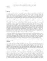 Tổng hợp các bài luận Tiếng Anh theo chủ đề