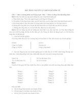 tổng hợp tài liệu ôn thi học phần nguyên ly thông kê kinh tê