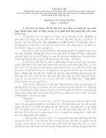 Nội dung bồi dưỡng tháng 9 năm 2013