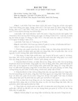 bài dự thi luật biển việt nam