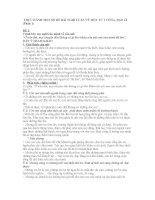 THỰC HÀNH một số đề bài NGHỊ LUẬN về một tư TƯỞNG đạo lí