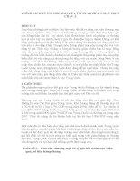 Tiểu luận môn tài chính quốc tế CHÍNH SÁCH TỶ GIÁ HỐI ĐOÁI CỦA TRUNG QUỐC VÀ MẬU DỊCH CHÂU Á