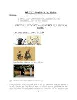 ĐỀ tài bashô và thơ haiku