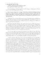 Những bài văn hay viết về mẹ - tập 1