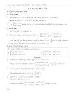 hệ phương trình  phần 2 (nguyễn tất thu)_cẩm nang luyện thi đại học