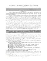 70 câu hỏi ôn tập lịch sử  có đáp án_tài liệu ôn thi đại học (Hay)