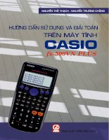 Hướng dẫn Giải toán bằng máy tính Casio Fx 570VN-Plus