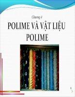Chương 4: Polime - Vật Liệu Polime