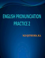 ngữ âm thực hành 2