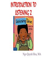 introduction to listening 2