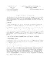 Mẫu đánh giá giáo viên tiểu học kèm công văn 616