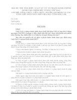 Bài thi tìm hiểu luật xử lý vi phạm hành chính-Nhóm ĐT 2