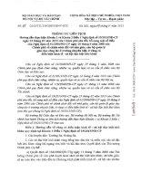 Thông tư hướng dẫn nghị định 19/2013/NĐ-CP