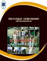 báo cáo tiểu luận môn quản trị chiến lược công ty cp địa ốc cáp điện thịnh phát chiến lược giai đoạn 2014 - 2020