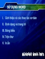 CAC THAO TAC CO BAN TRONG WORD