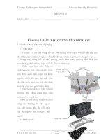báo cáo thực tập về cấu tạo động cơ xe ôtô
