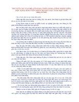 Bức thư Bác Hồ gửi cho ngành Giáo dục