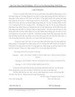 CÁC CÔNG NGHỆ TRIỂN KHAI FTTx và Phương Pháp Triển Khai