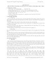 Kế hoạch BDTX 2013- tổ toán tin ncp