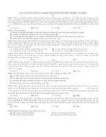 Các câu hỏi chọn lọc phần sóng cơ trong các đề thi thử đại học năm 2013