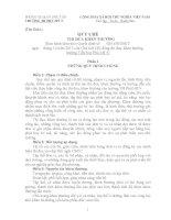 Quy chế thi đua khen thưởng trường Tiểu học Phú Mỹ 5