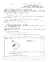 06 Đề Ktra 1 tiết số 1 - Hình học 12