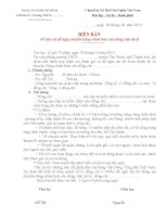 BIÊN BẢN HỌP CHI ĐOÀN NHẬN XÉT CHUYỂN ĐẢNG CHÍNH THỨC CHO ĐV DỰ BỊ NĂM 2013-  THANH HOA