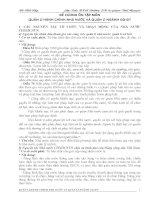 ĐỀ CƯƠNG ÔN TẬP MÔN QUẢN LÝ HÀNH CHÍNH NHÀ NƯỚC VÀ QUẢN LÝ NGÀNH GIÁO DỤC ĐÀO TẠO