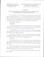 """Kế hoạch Tổ chức """"Ngày Pháp luật nước Cộng hòa xã hội chủ nghĩa Việt Nam"""" trong ngành giáo dục tỉnh Khánh Hòa năm 2013"""
