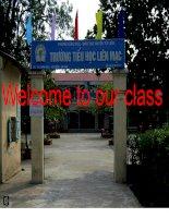 Tieng Anh 3 unit 6 lesson 1
