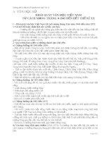 tài liệu hướng dẫn ôn tập thi tốt nghiệp và luyện thi đại học môn ngữ văn 12
