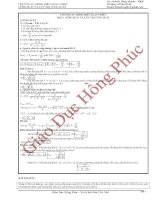 Taì liệu ôn thi đại học về công suất và cực trị công suất