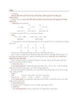 amin và bài tập về amin