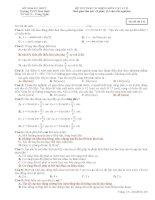 DỀ KIỂM TRA VẬT LÍ 12 CHUONG 1 VÀ 2
