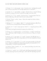 51 Cấu trúc so sánh trong tiếng anh