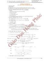 Hệ thống công thức giải nhanh vật lý 12