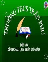 Tiết 61: Ôn tập và kiểm tra phần Tiếng Việt
