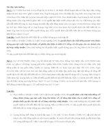 Bài tập tình huống luật doanh nghiệp (có đáp án)