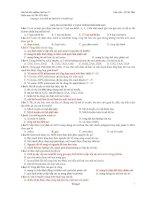 Câu hỏi trắc nghiệm di truyền sinh học lớp 12_tài liệu luyện thi đại học