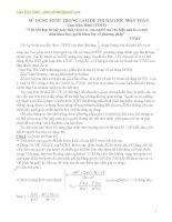 Kỹ năng làm bài thi đại học môn toán với MTBT (bản 2)
